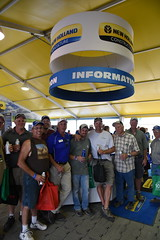 fps-16-232 (AgWired) Tags: farm progress show farmprogressshow agriculture new holland agwired zimmcomm media tractor hay forage harvest combine