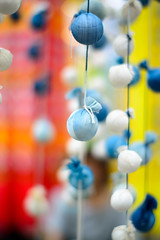 Rainy Spheres (H.H. Mahal Alysheba) Tags: japan sendai tanabata ornament bokeh dof nikon d800 afs nikkor 58mmf14