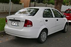 2003 Daewoo Kalos (T200) SE sedan