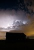 Lightning storm above the Knaus Barn (palmchat) Tags: barn lightning colorado boulder gunbarrel osmp openspace nightsky thunderstorm thunder christiannunes sky cloud