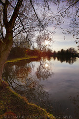 Anderton Pond (Muzammil (Moz)) Tags: trees reflections muzammilhussain camerahdr anertonpond