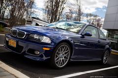 BMW M3 (E46) (Jeff_B.) Tags: classic cars car newjersey automobile m exotic bmw bergen m3 caffe paulmiller carsandcroissants carsandcaffe
