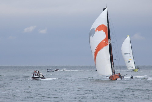 Alvimedica 3th - Brunel 4th - Volvo Ocean Race 2014-2015 - Leg 5 - Itajaí