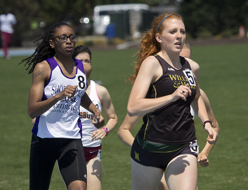 CNU Christopher Newport University Virginia Va. Captains Classic Track and Field meet women's  meter 1500  NCAA William and Mary