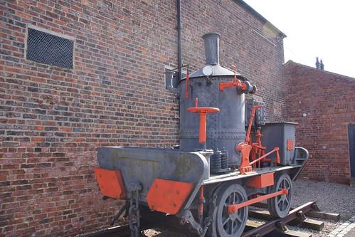 Head Wrightson Coffee Pot Locomotive No 21 Teesdale Ironworks