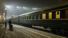 Trans Siberian Railway | Irkutsk Train Station