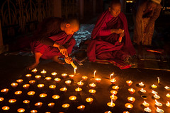 Candles, Bodhgaya (Marji Lang Photography) Tags: travel india night composition temple worship candles nightshot buddha buddhist indian faith praying buddhism bouddha holy monks devotion spirituality moment spiritual buddhisttemple prayers incense bodhi bouddhisme bihar buddhistmonks bodhgaya mahabodhi travelphotography bodhitree republicofindia beautyoflife ef247028l indiansubcontinent mahabodhitemple canoneos5dmarkii travelanddocumentaryphotography marjilang mahabodhimahaviharatemple bhrat bhratgaarjya