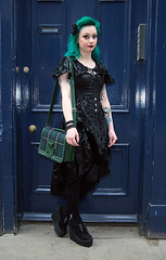 STREET FASHION BY PAT LYTTLE (jpassionpat) Tags: street uk fashion festival weekend pat gothic goth inspired style whitby lyttle