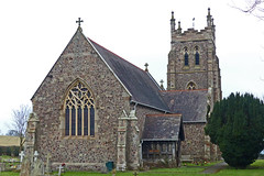 Wychbold, Worcestershire, St Mary de Wyche. (Tudor Barlow) Tags: winter england churches worcestershire listedbuilding parishchurch wychbold gradeiilistedbuilding lumixfz200