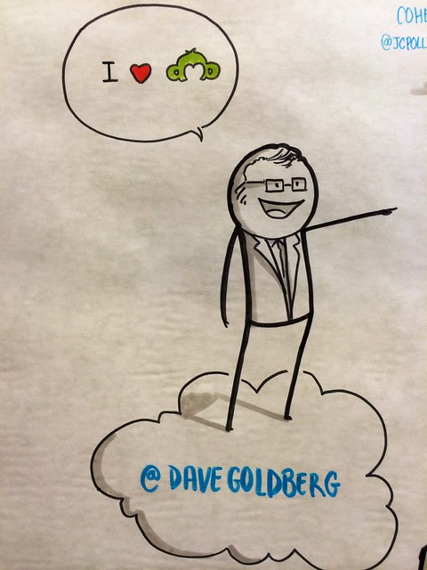 CEO, Dave Goldberg-