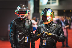 C2E2 2015 (SauceyJack) Tags: show chicago comics costume illinois outfit comic place expo cosplay character makeup il fantasy convention comicbook april cosplayer mccormick pretend daftpunk mccormickplace 2015 portray costumeplay c2e2 nikond810 chicagocomicandentertainmentexpo nikkor8514g lightroomcc