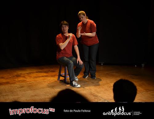 Improfocus - Espetáculo de improvisação - 2011, dia 5 de outubro