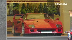 1990 Ferrari F40 (Rorymacve Part II) Tags: auto road bus heritage cars sports car truck automobile estate transport ferrari historic motor saloon compact roadster f40 motorvehicle ferrarif40