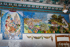 Mosaico en la Estacion del Norte (espada100) Tags: valencia mosaico estacion norte