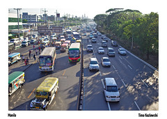 Quezon City (Timo Kozlowski) Tags: street city st southeastasia traffic philippines streetphotography jam quezon traffice streetogs