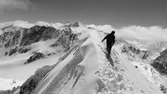 On the top (pillows87) Tags: ski tirol snowboard steep stubaital