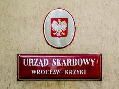 Wrocaw (isoglosse) Tags: sign poland polska schild polen serif sansserif wrocaw breslau znak ogonek kreska u0141