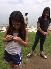Learning to fish at Sandy Point (KFiabane) Tags: annapolis sandypoint njhs