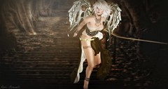 Broken Angel (roxi firanelli) Tags: angel mix wings vinyl theannex fantasy secondlife belleza cellardoor azuchi tabou whitewidow anlar argrace we3roleplay