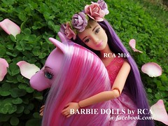 Barbie Endless Hair Kingdom Princess Doll (Barbie dolls by RCA) Tags: new horse hair doll purple princess body barbie style kingdom endless 2016