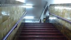 No pasar (MaxiNovelliF) Tags: argentina subway buenosaires metro stairway escalera subte estacin transporte sancristbal lneae