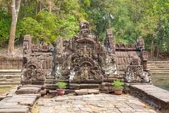 Neak Pean temple near Siem Reap in Cambodia (UweBKK ( 77 on )) Tags: history religious temple ancient asia cambodia kambodscha khmer buddha sony faith religion culture buddhism siem reap historical southeast alpha dslr siemreap angkor hindu hinduism archeology 77 cultural slt archeological neakpean pean neak