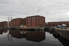 IMG_0251 (A W Sharp) Tags: reflection building water liverpool canon dock albert 1100d canon1100d