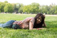 Lola en el Central Park, 3 (Cristian Becker) Tags: nyc 50mm dof brooklynbridge 50mmf12 d810 soniakoch 50mmf12m
