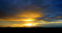 IMG_0046k (gzammarchi) Tags: italia tramonto nuvola natura campagna sole paesaggio ravenna pianura villanovadiravenna