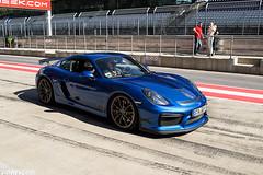 Cayman GT4 (Patrick2703) Tags: blue cars austria porsche cayman spielberg gt4 worldcars redbullring