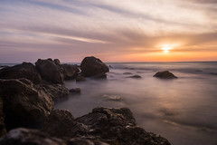 Sunset Mist (Dan Ydov) Tags: sunset sea beach water colors composition nd nd1000 nd30 bw110 canon6d canon2470f4l danydovphotografer
