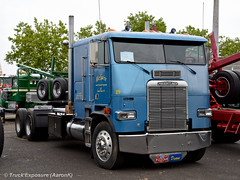 1989 Freightliner (Truck Exposure) Tags: coe cabover