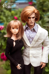 Magnus and Tomoko (astramaore) Tags: summer love fashion couple raw dress wind nu pair north greeneyes relationship blond agency lukas blonde 16 cheekbones gown viola lovestory affair maverick relations appeal momoko fulllips loveaffair dollphotography fashionroyalty integritytoys nuface astramaore