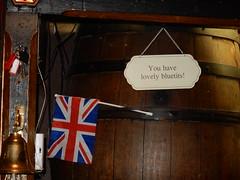 Hale's Bar, Harrogate (deltrems) Tags: bar jack restaurant hotel pub inn comedy interior flag yorkshire union double tavern innuendo harrogate decor entendre hales bluetits hostelry halesbar