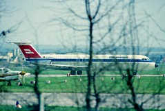 D-AMAT BEHIND THE TREES (stage1uk) Tags: bac111 damat baconeeleven germanair