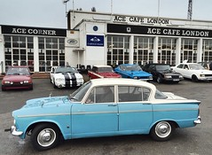 Humber Sceptre at the Ace Cafe (humberama) Tags: show classic car vintage cafe ace retro mk2 british saloon humber sceptre rootes acecafe