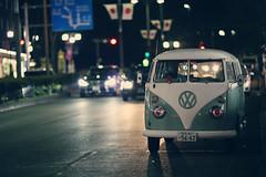 VW ([~Bryan~]) Tags: vehicles transport road street night light nightlife city tokyo van japan