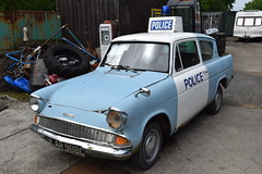 LAR 988C (markkirk85) Tags: ford car police replica anglia 105e