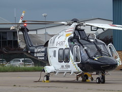 G-KSST Agusta AW169 Helicopter (Aircaft @ Gloucestershire Airport By James) Tags: james airport gloucestershire helicopter lloyds agusta egbj aw169 gksst