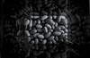 Cool Beans (time_anchor) Tags: monochrome blackandwhitephotography beans vase art subtlereflections symmetry anglesanglesangles playingaround