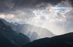Rayning Light (@hipydeus) Tags: light stormy rays dolomites