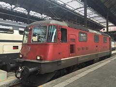 SBB Re 4/4 420 195 Basel SBB (daveymills31294) Tags: sbb 420 basel re 44 ffs 195 cff baureihe 11195