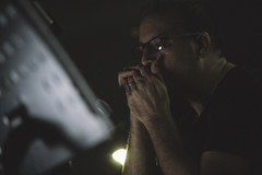 Visioni Sonore 012 (Cinemazero) Tags: jazz biblioteca chiostro pordenone busterkeaton cinemamuto jorisivens cinemazero zerorchestra visionisonore claudiocojaniz giannimassarutto massimodemattia
