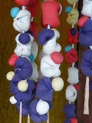 Strings of little dolls (Stop carbon pollution) Tags: japan  saitamaken  chichibu  34kannonpilgrimage