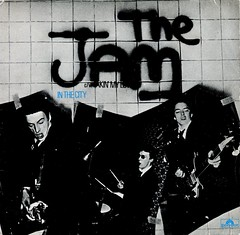 The Jam - In The City (1977) (stillunusual) Tags: thejam jam inthecity sleeve picturesleeve recordcover artwork single vinyl record aside 1970s 1977