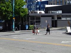 Around Seattle: South Lake Union (Seattle Department of Transportation) Tags: seattle sdot transportation slu southlakeunion amazon pedestrian walkers peds family cute