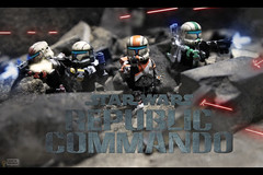 Delta Squad (Grant Me Your Bacon!) Tags: boss trooper republic lego delta troopers stormtrooper sev squad custom clone commando scorch fixer