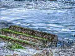 To Nowhere... (judithtrillo) Tags: ocean beach playa vigo escaleras vao 08febrero2015undomingodetres
