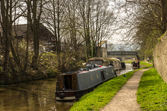 Leeds-Liverpool Canal Skipton (shabbagaz) Tags: uk greatbritain england town canal unitedkingdom britain sony yorkshire united great north kingdom alpha barge skipton leedsliverpoolcanal leedsliverpool a65 shabbagaz april2015