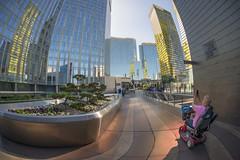 Wheelchair Photographer, CityCenter, Las Vegas